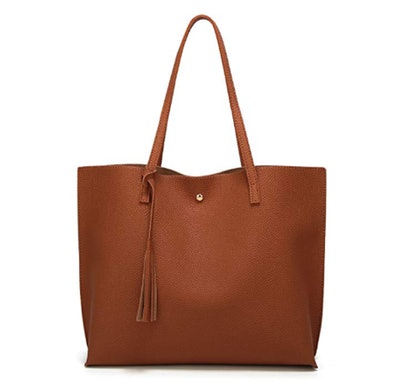 Dreubea Soft Leather Tote