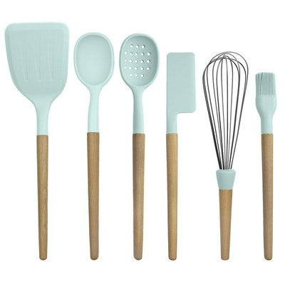 Country Kitchen Non-Stick Silicone Utensil Set