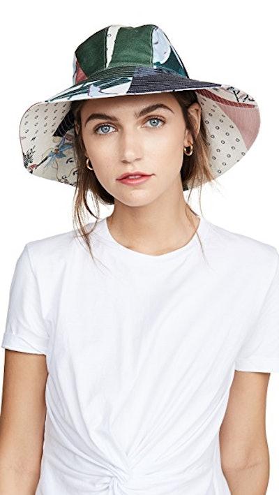 Floral Patchwork Hat
