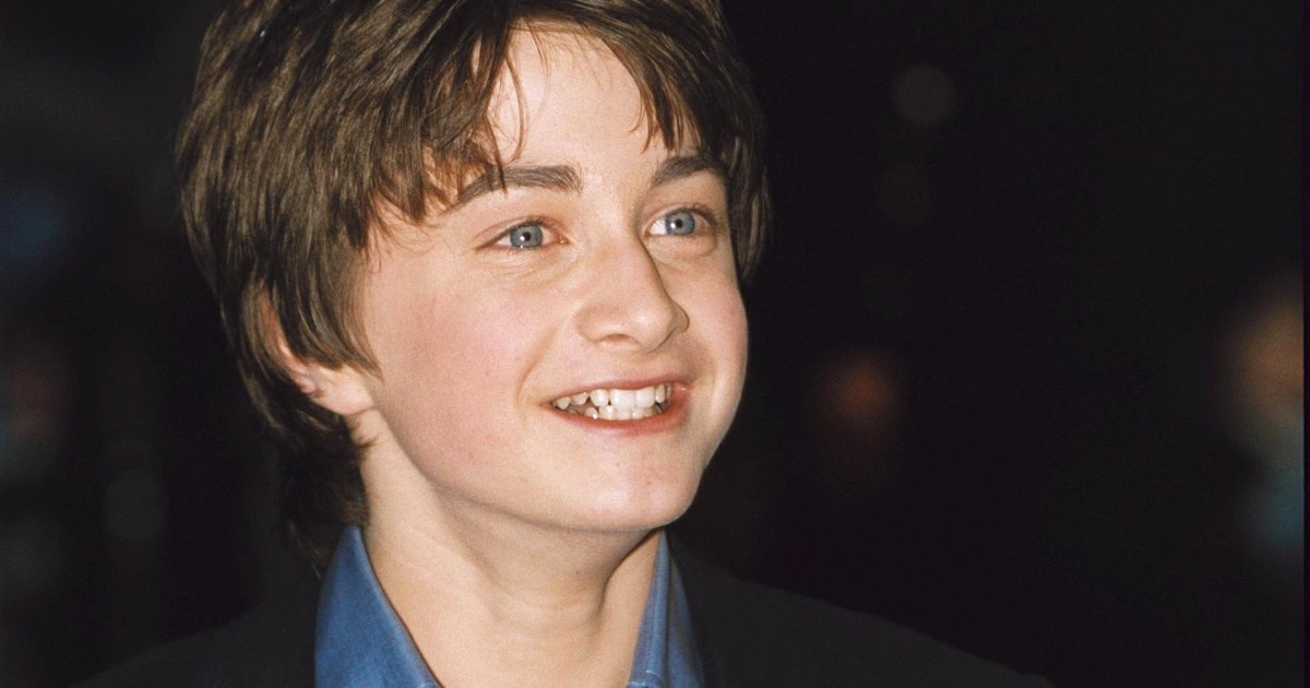 Daniel Radcliffe's First 'Harry Potter' Autograph Just Went Up For Auction
