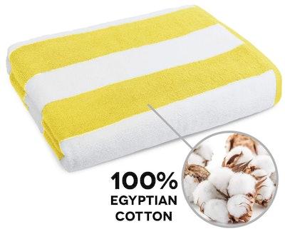 Caravalli Egyptian Cotton Beach Towel