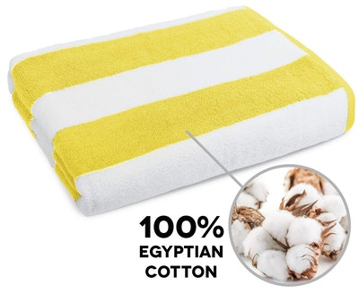 Caravalli Egyptian Cotton Beach Towel