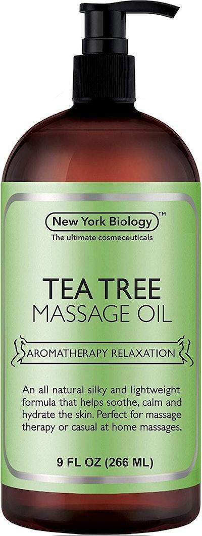 New York Biology Tea Tree Massage Oil