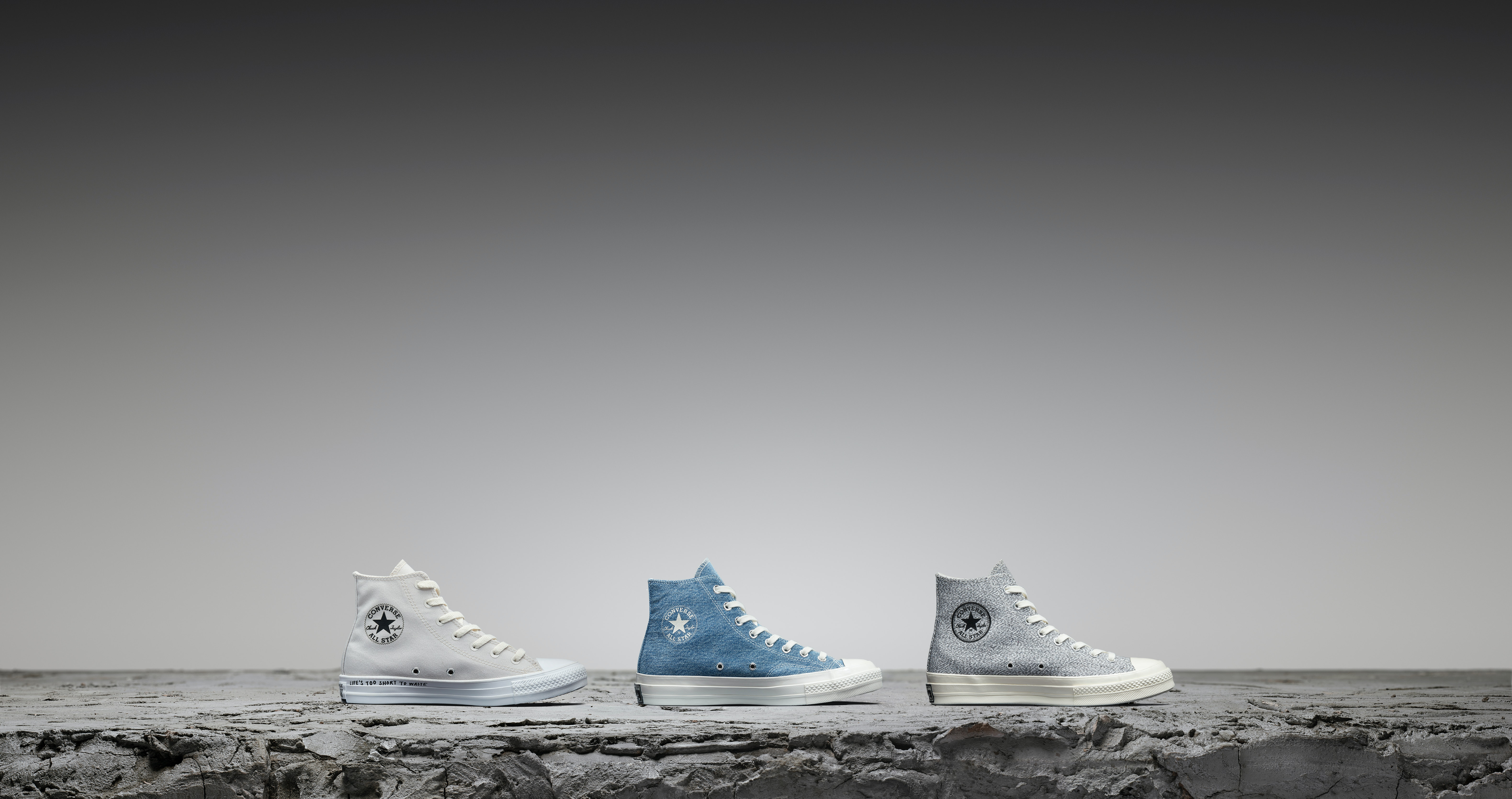 100% Calidad baratas para la venta Calidad superior Converse's New Renew Sneakers Are Made Out Of Recycled Materials ...