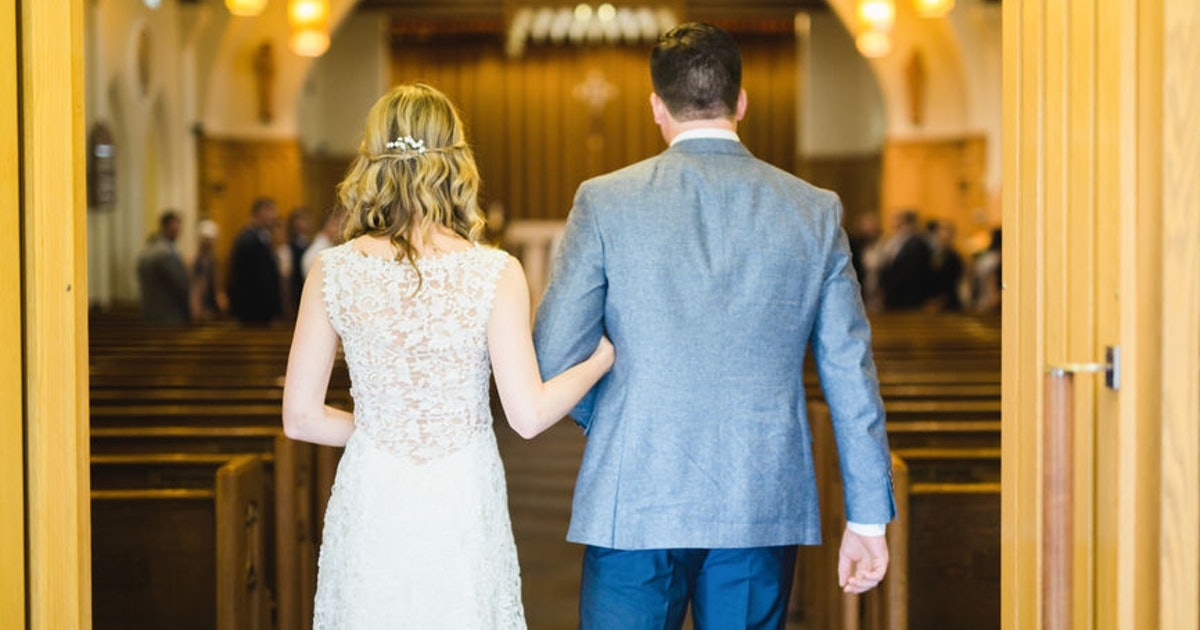 The Actual Cost Of A Church Wedding Can Vary, But Here's Why A Wedding Planner Suggests It
