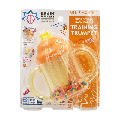 First Words Baby Babble Training Trumpet