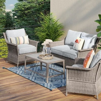 Foxborough 4pc Patio Conversation Set - Threshold™