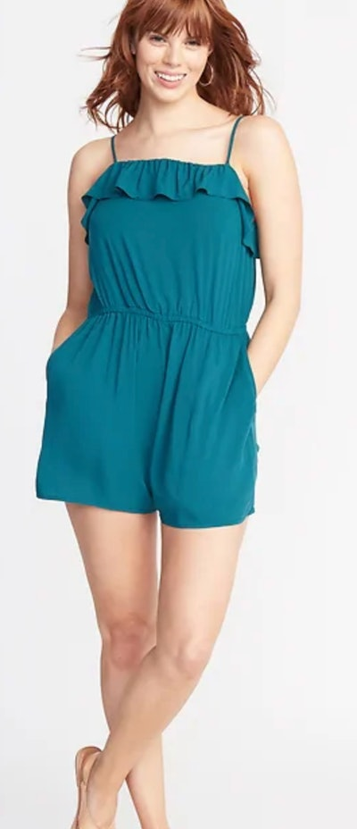 Ruffle Tiered Romper