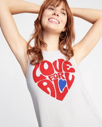 Luxe Love For All Graphic Swing Tank