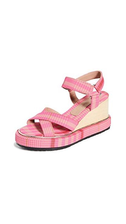 Seil Wedge Sandals