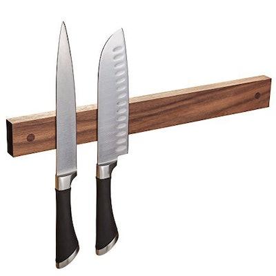 wooDsom Magnetic Knife Strip, Walnut