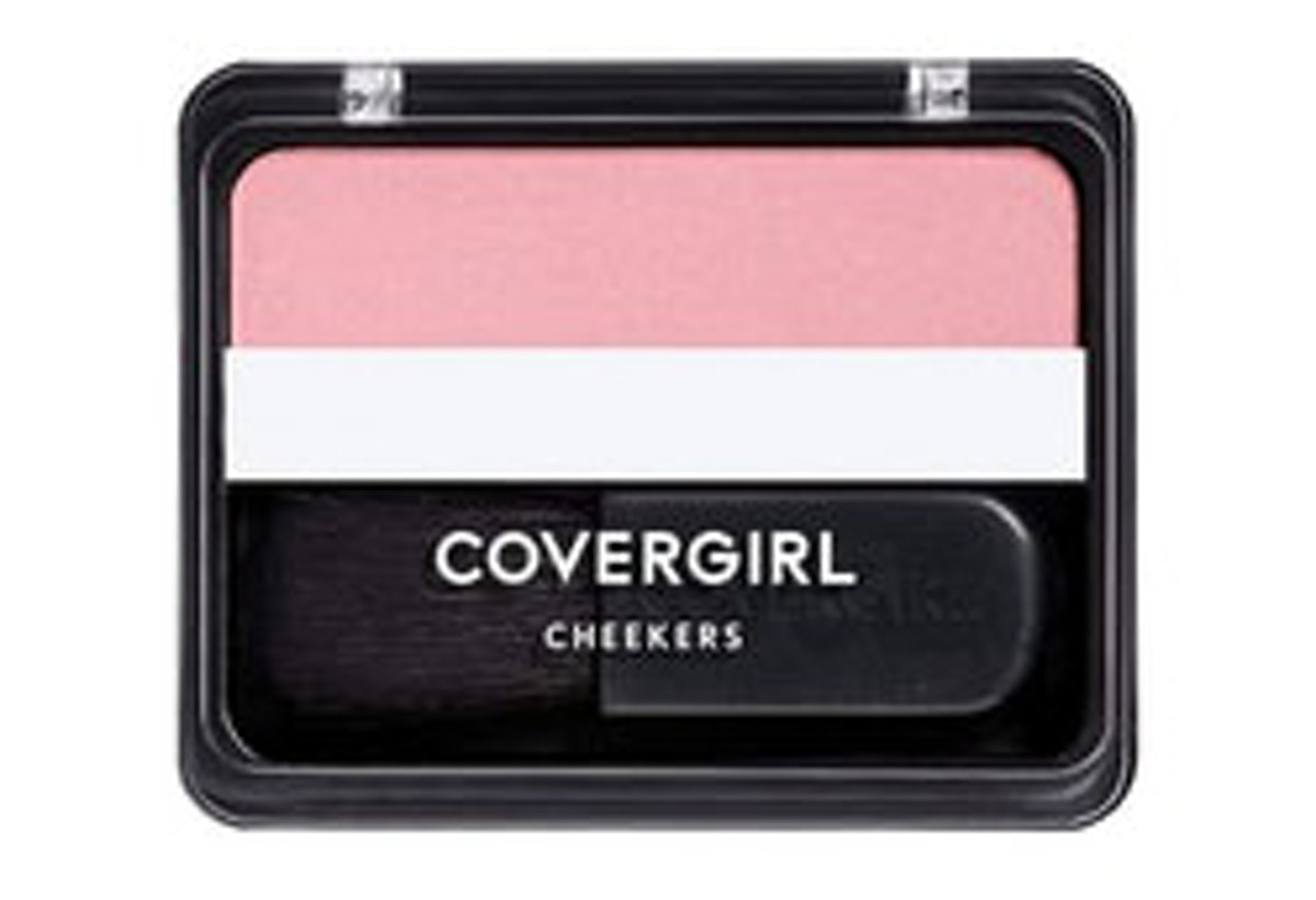 Covergirl Cheekers Blush In Natural Rose