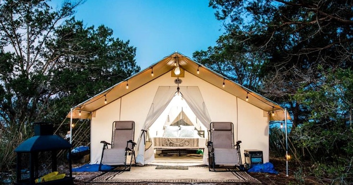 Last-Minute Glamping Trips You Can Still Book For The Fourth Of July