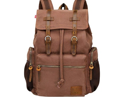 WOWBOX Unisex Leather Satchel Backpack