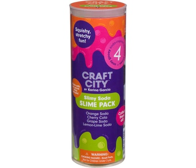 Karina Garcia 4pk Collectible Slime- Soda Pop by Craft City