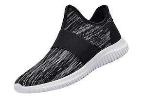 QANSI Mens Lightweight Slip-On Walking Shoes