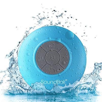 SoundBot SB510 HD Water Resistant Bluetooth 3.0 Shower Speaker