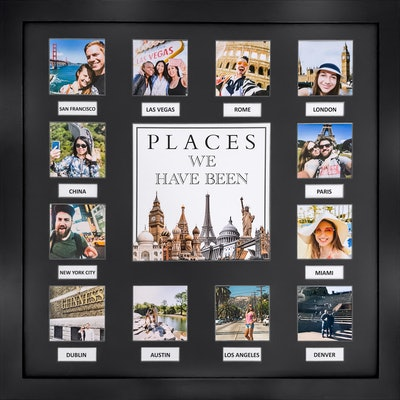 Travel Bucket List Picture Frame