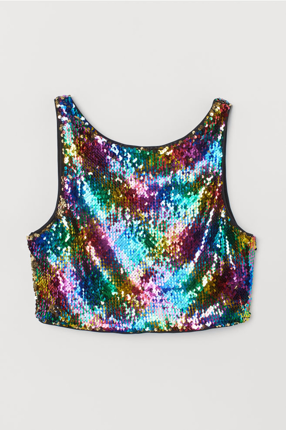 Top with Reversible Sequins