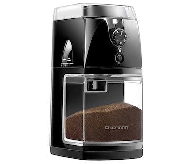 Chefman Coffee Grinder Electric Burr