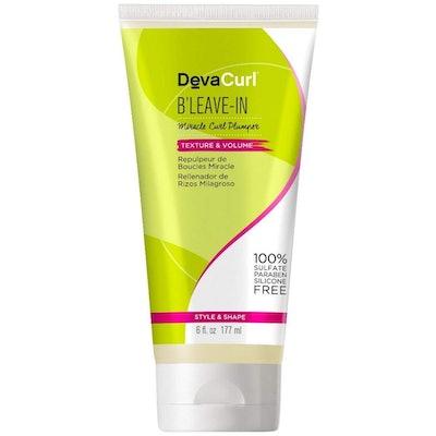 DevaCurl B'Leave-In Miracle Curl Plumper, 6oz