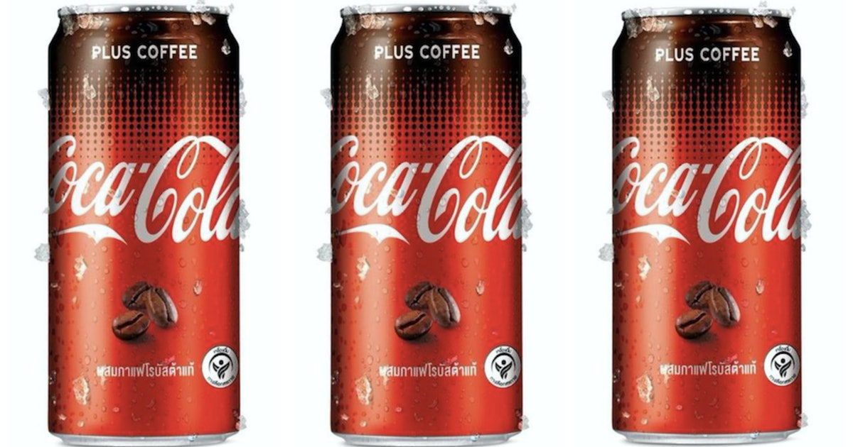 Coca-Cola Plus Coffee May Be Coming To The U.S. Soon