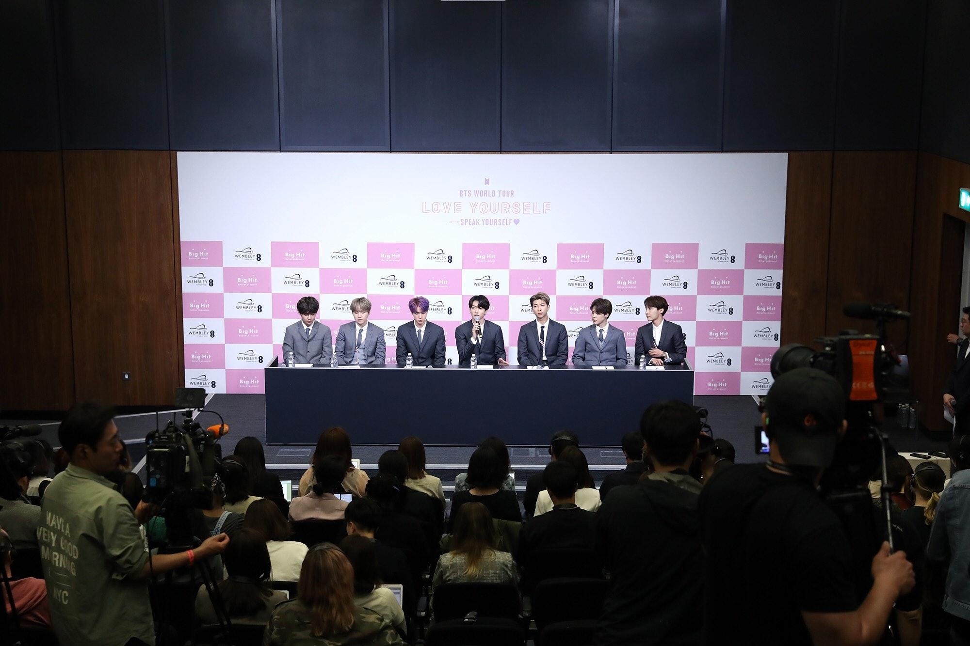 7 BTS At Wembley Photos That Prove These K-Pop Legends Put