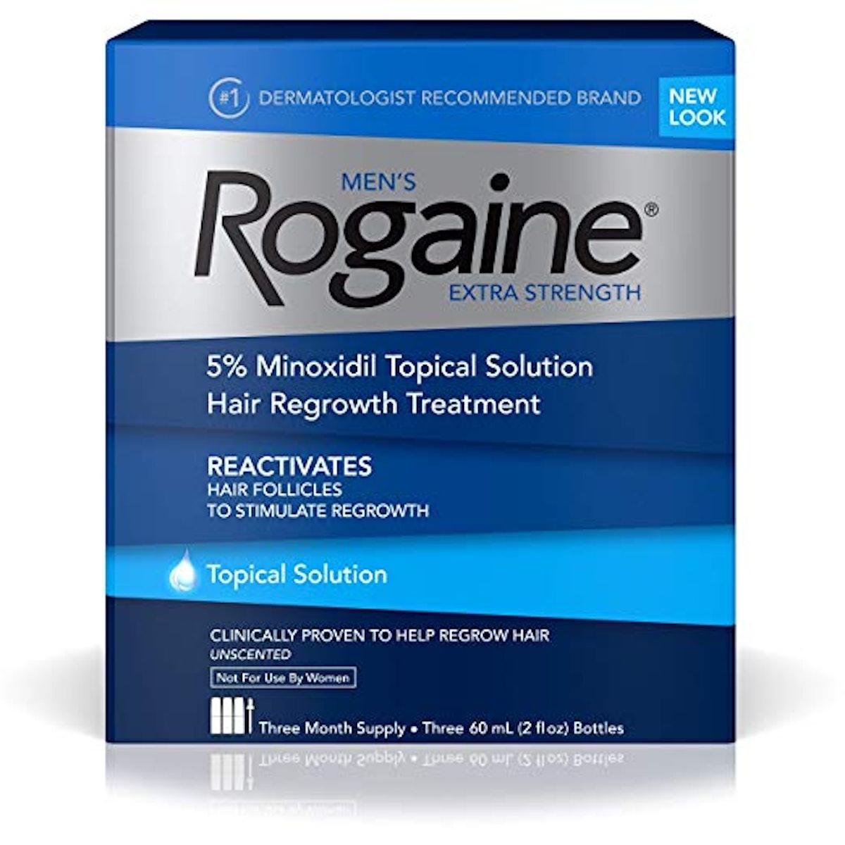 Men's Rogaine 5% Minoxidil Topical Solution