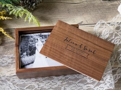 Wood Memory Box - 4x6