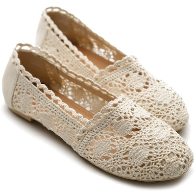 Ollio Lace Breathable Flat