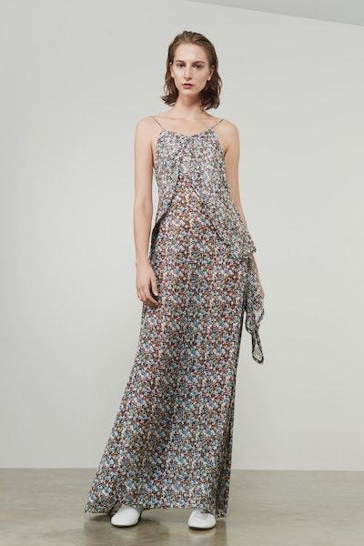 Victoria Beckham Draped Cami Full Length Dress