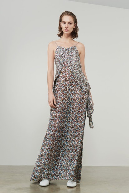 Victoria Beckham Draped Cami Full Length Dress
