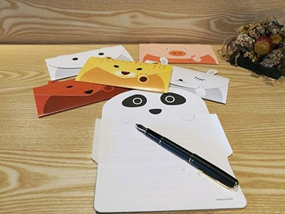 JINSRAY Cute Lovely Animal Cartoon Design Letter Writing Stationery Paper