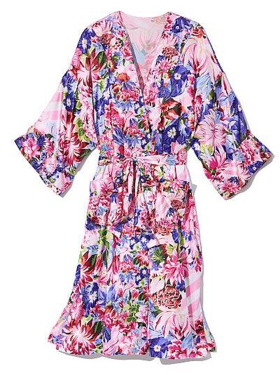Victoria's Secret x Mary Katrantzou Satin Kimono