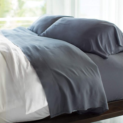 Cariloha Resort Bamboo 4-Piece Bed Sheet Set (Queen Size)