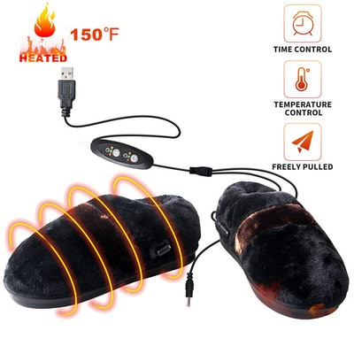 Bial Heating Pad USB Slippers