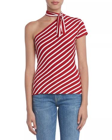 BAILEY 44 Entre Nous Venie Striped One-Shoulder Top