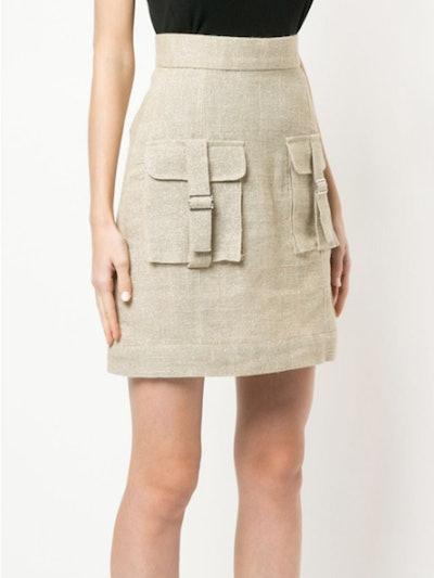 Sparkle Cargo Skirt