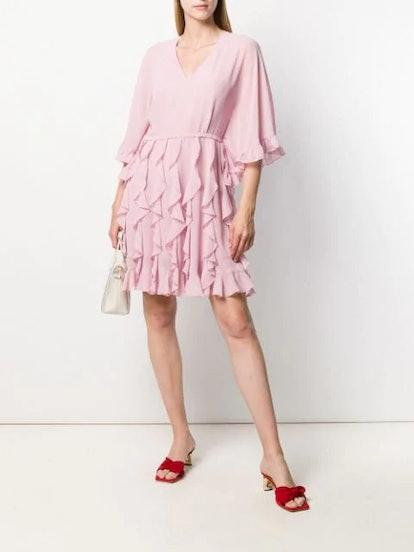 Ruffled Skirt Dress