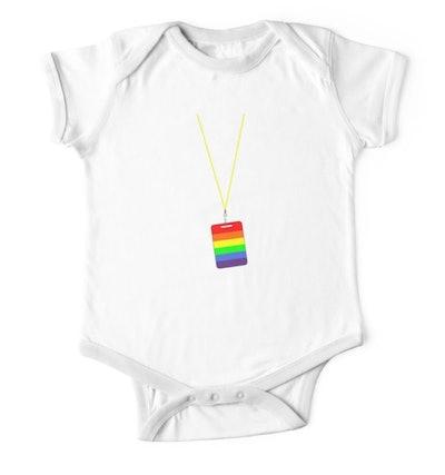 LGBT + Badge Onesie
