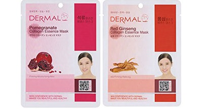 Dermal Facial Sheet Mask (Pack of 24)