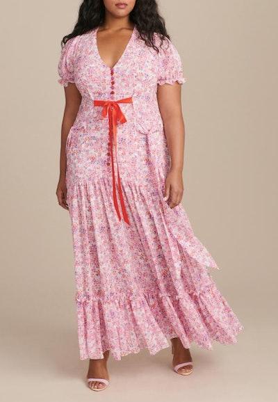Puff Sleeve Victorian Tea Gown