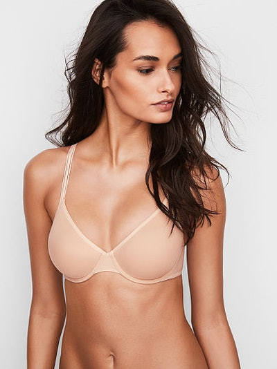 Body By Victoria Angelight Perfect Coverage Bra - Smooth Champagne