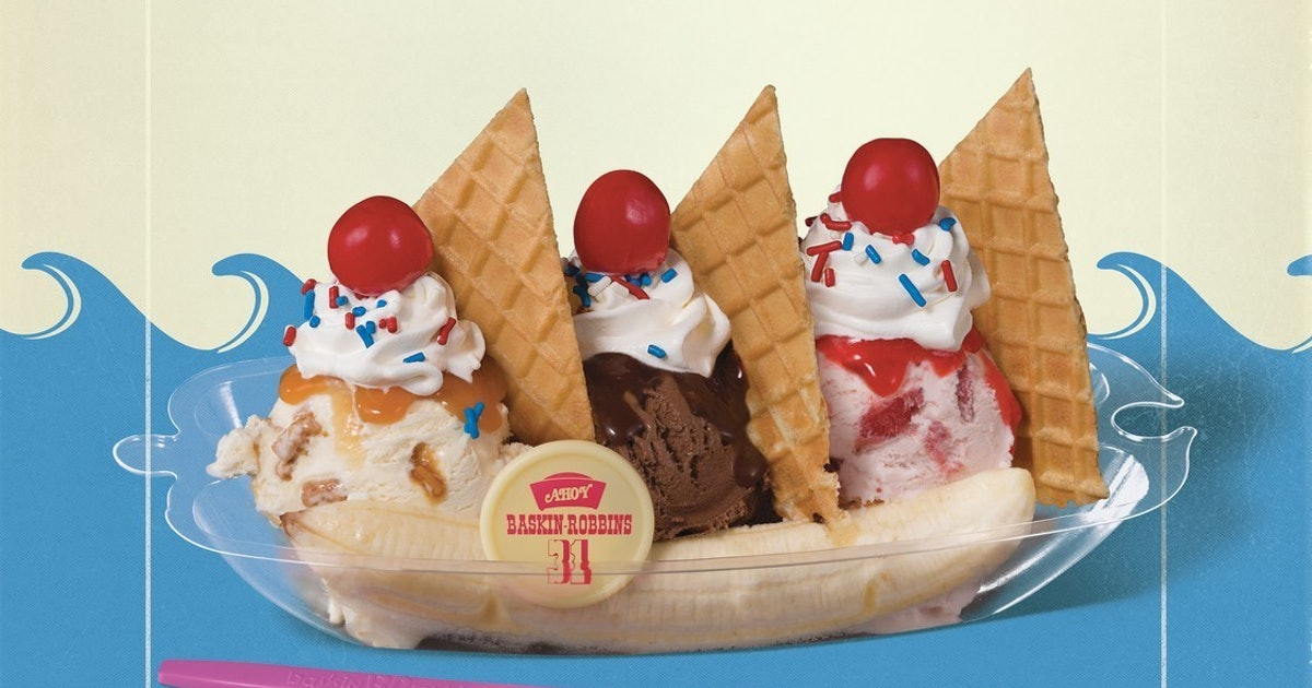 Baskin-Robbins' USS Butterscotch Sundae Is The New 'Stranger Things' Treat You Need To Try