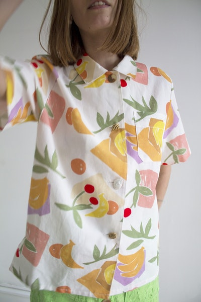 Rejina Pyo, Mila Shirt, Fruit Print