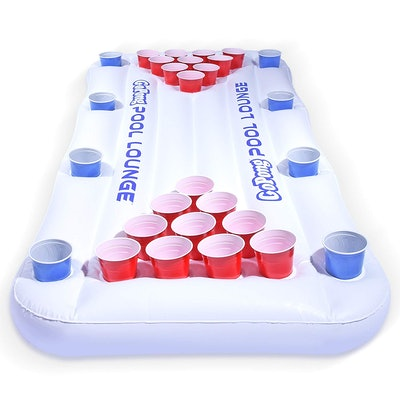 GoPong Pool Lounge Beer Pong Inflatable