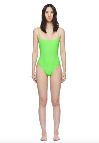 Green Otto One-Piece Swimsuit