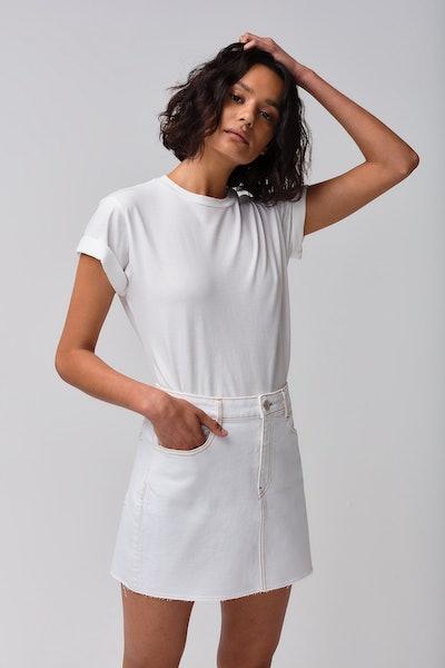 Celine Skirt in Winter White
