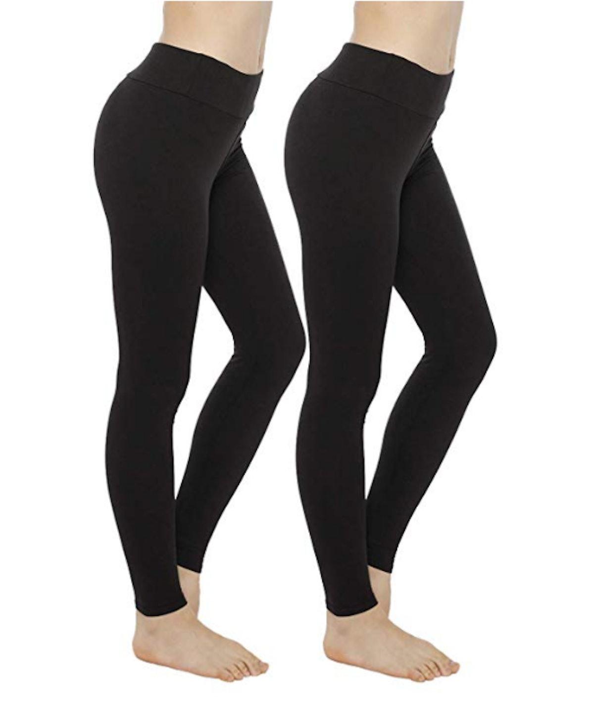 LaGoo Ultrasoft Leggings, 2 Pair