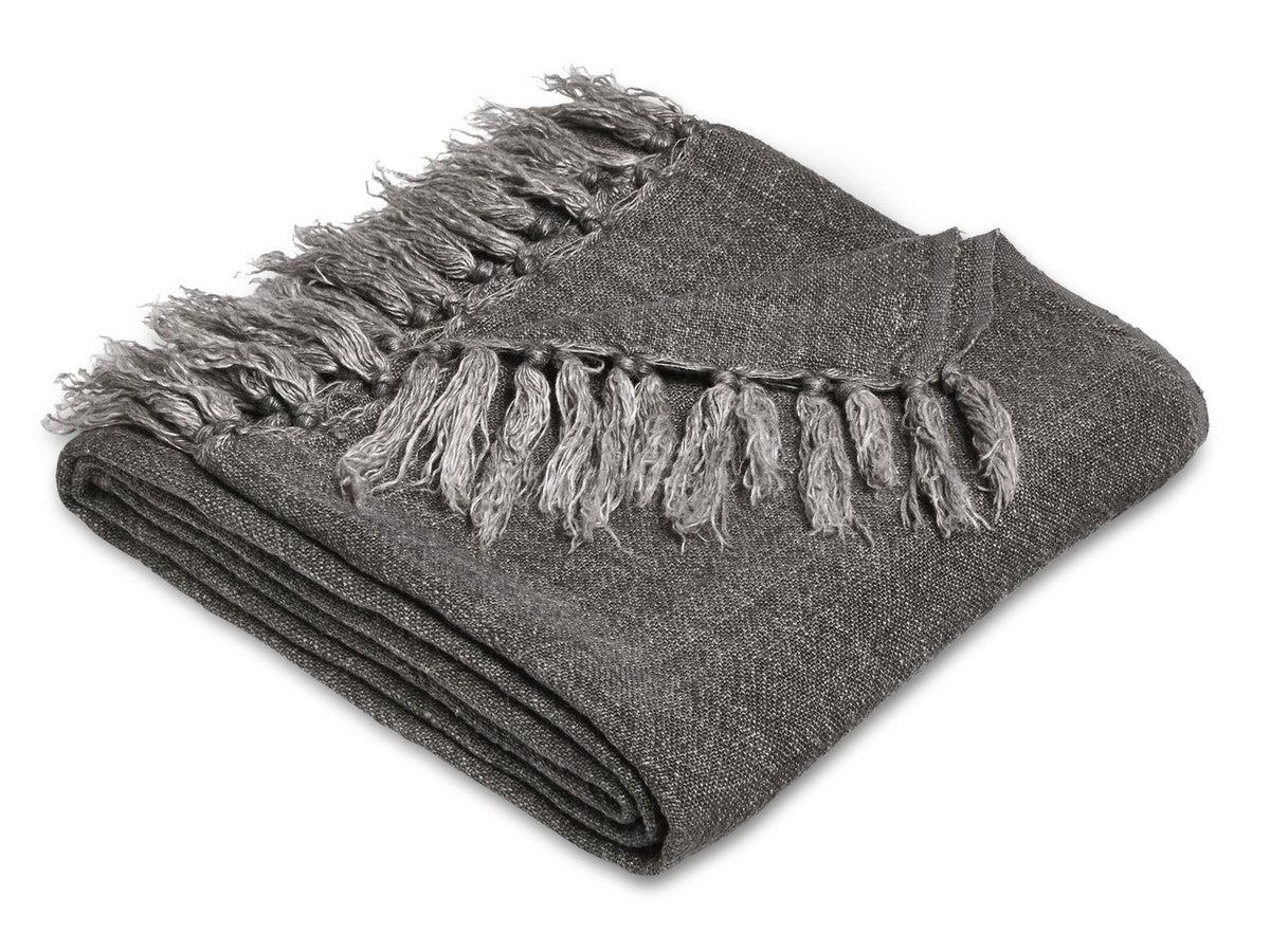 Heavy Linen Throw